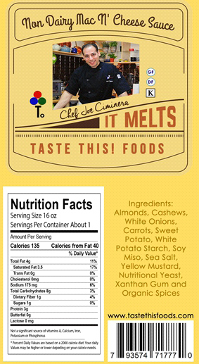 """A Non-Dairy and Gluten Free lovers dream company, """"Taste This Foods"""""""