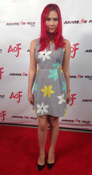 Elena Choo at Asians on Film event 2014
